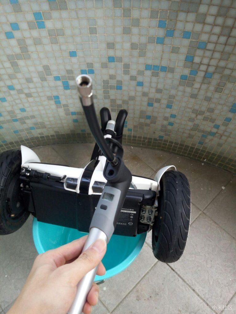 inflating mini pro segway balance scooter