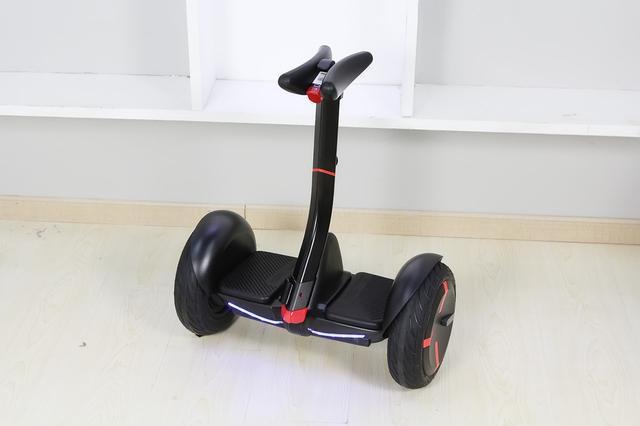 mini pro segway balance scooter stands upright